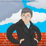 Yours Truly Harry Saxon by Asaph
