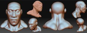 zbrush 2nd attempt by KevinHarrell