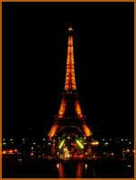 Eiffel Tower at night by Alexia88