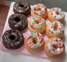 Dollhouse Donut Platter by LittleSweetDreams