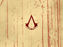 Assassin's Creed Wallpaper: Blood by Calamity9
