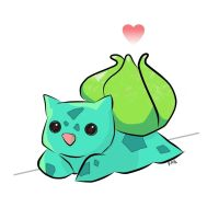 Bulbasaur! by Paper-Elf