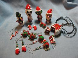 Claymas 2010 Full Set by okapirose