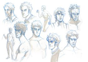 Character sketches by fifoux