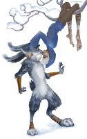 Rise of the Guardians - Jack Frost x Bunnymund by maXKennedy