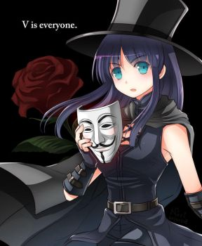 V is everyone by nori942