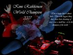 Wallpaper Kimi Raikkonen 3 (2007) by MissKettyDesigns