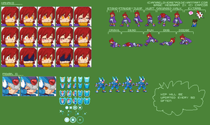 Hanako Sprite Sheet Update by DoReMino