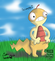 Scraggy! by LinkSketchit