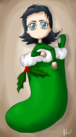 Loki Stocking by Phoenix-Featherx