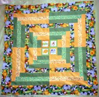 Jungle baby blanket by black-lupin