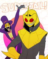 SJ: superjail hooded by Quere