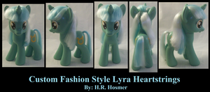Fashion Style Lyra Heartstrings by Gryphyn-Bloodheart