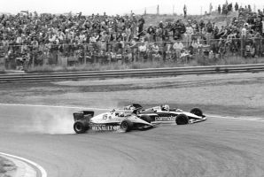 Alain Prost | Nelson Piquet (Netherlands 1983) by F1-history