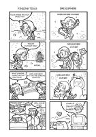Final Fantasy X2 Strips by SandikaRakhim