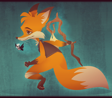 A Foxy Adventure by zombie