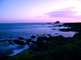 Monterey Bay, California by veryberrypeachy