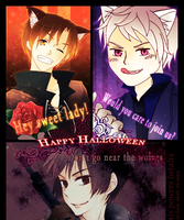 Collabs: Halloween Art by dluvulb