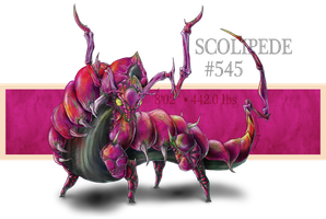 Real Pokemon: #545 Scolipede