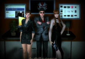 Another day at the office by IamAlbertWesker