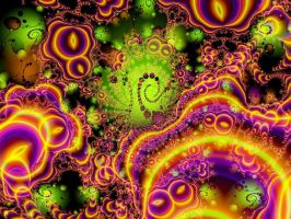 Planetary Chaos FRACTAL by Thelma1