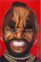 Mr. T Caricature by mth1022