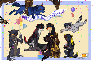 Happy-Birthday Noxi! by Ronkeyroo