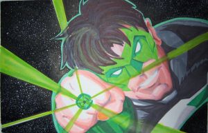Green Lantern by NickMockoviak