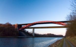 Nord-Ostsee canal bridge by Hexaloner