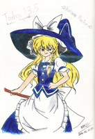Marisa in Touhou 13.5 Outfit by crazytreasurestudio