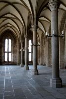 Mont-Saint-Michel 09 Stock by lokinststock