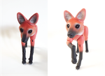 Maned Wolf BJD 06 by vonBorowsky