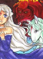 Amalthea The last Unicorn by Alien-Angel