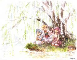 Magi - Under the Tree by Shumijin
