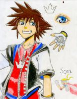 Kingdom Hearts 1st Drawing! by SAJ-Man
