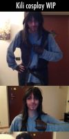 Kili cosplay WIP by AlyTheKitten