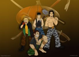 Pumpkin Pirates Crew by RagnareK