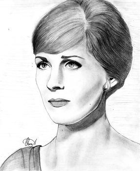 Julie Andrews by ClaraLopesAssis