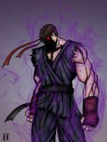 ryu - dark hadou by hulja
