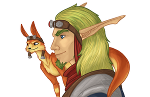 Jak and Daxter by Jakiron
