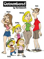 OUTNUMBERED CAST by tombancroft