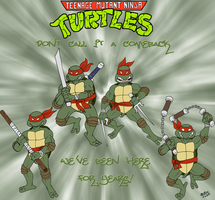 TMNT - Mirage Style by TuxedoMoroboshi