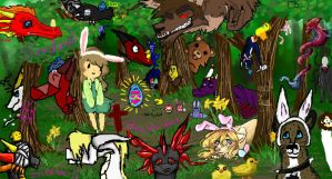 Easter Polish Deviantart Collab 2013 by ChaosRaptor