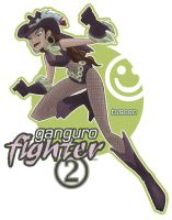 ganguro fighter 2 'tuscon' by jimmymcwicked