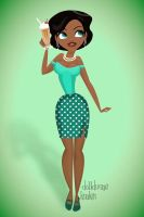 Pinup Tiana by ajhistoric2