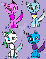 Cute Adopts set 3 by Snowflame132