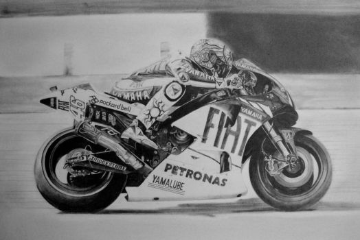 Rossi - aka The Doctor by Dhekalia