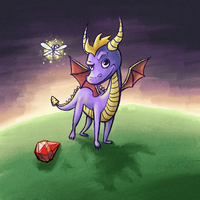 Spyro by Isolated-Scetch