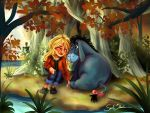 Becky and Eeyore by Blossom525