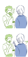 stuff your mouth with this instead by Zoro-san